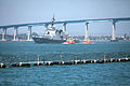 Japanese Maritime Self-Defense Force members arrive at Naval Base San Diego May 31, 2013, to participate in exercise Dawn Blitz 2013 130531-M-SE196-001.jpg