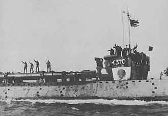 Type D submarine - Image: Japanese submarine I 370