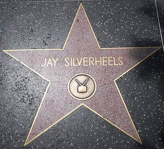 Jay Silverheels - Star on the Hollywood Walk of Fame at 6538 Hollywood Blvd.