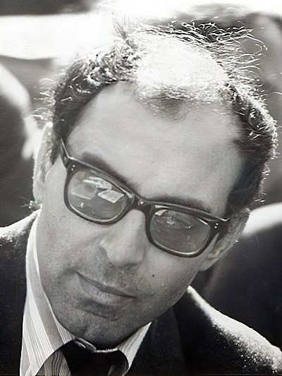 Picture of an author: Jean-Luc Godard