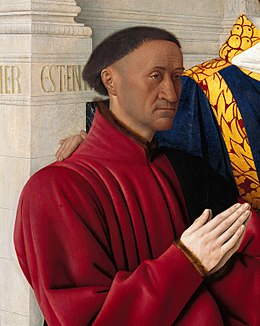 Jean Fouquet - Etienne Chevalier with St. Stephen - detail 01.jpg