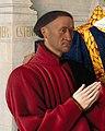 Jean Fouquet - Etienne Chevalier with St. Stephen - detail 01.jpg