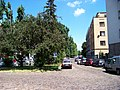 Jeremenkova, vyústění do Podolské.jpg