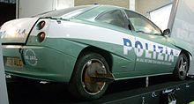 La Fiat Coupé utilizzata in Top Gear da Clarkson durante uno dei suoi show