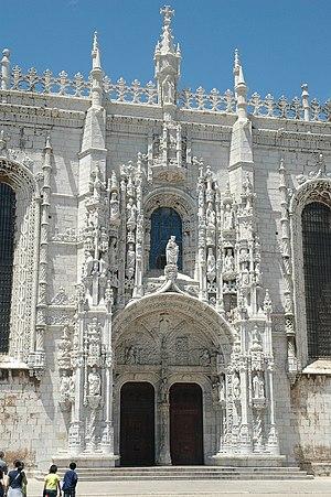João de Castilho - Image: Jeronimos South Portal