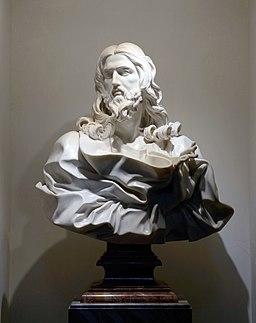 Jesus of Gian Lorenzo Bernini in San Sebastiano fuori le mura (Rome)