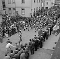 Jeugdkapel Prins Bernhard uit Tilburg in de optocht, Bestanddeelnr 254-4455.jpg