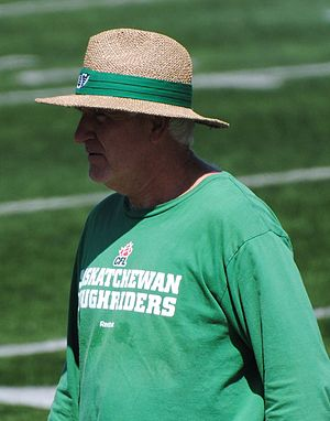 Jim Daley - Daley with the Saskatchewan Roughriders in 2010.