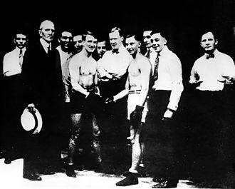 Benny Leonard - Welsh vs Leonard 1917