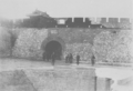 Jinzhou castle North gate 1894.png