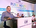 Jitendra Singh addressing at the CII Public Health Conference, in New Delhi.jpg