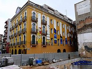 Joan Gardy Artigas - Fonda Europa, a building decorated by Joan Gardy Artigas in Granollers