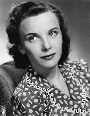 Joan Tetzel - Tetzel circa 1940s.