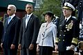 Joe Biden, Barack Obama, Deborah Mullen and her husband, Navy Adm. Mike Mullen, 2011.jpg