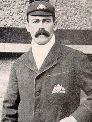 Australian cricket team in England in 1902 - Joe Darling, the Australian captain