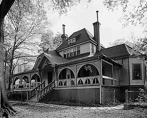 Joel Chandler Harris House - HABS photo from 1985