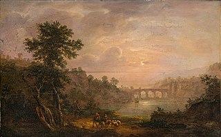 Southern Landscape with a Stone Bridge