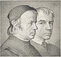 Johann Anton Ramboux, The Brothers Konrad and Franz Eberhard, 1822, NGA 144848.jpg