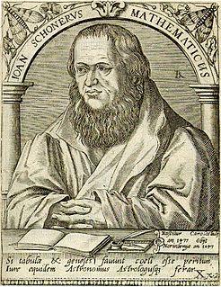 Johannes Schöner German astronomer