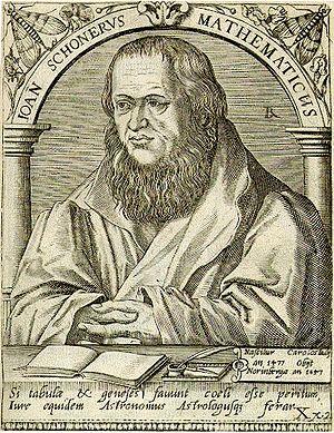 Johannes Schöner - Joan Schonerus Mathematicus