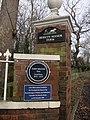 John Milton plaque Berkyn Manor Farm Horton.JPG