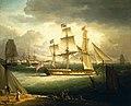 John Thomas Serres - The 'Royal Sovereign', Yacht (1809).jpg
