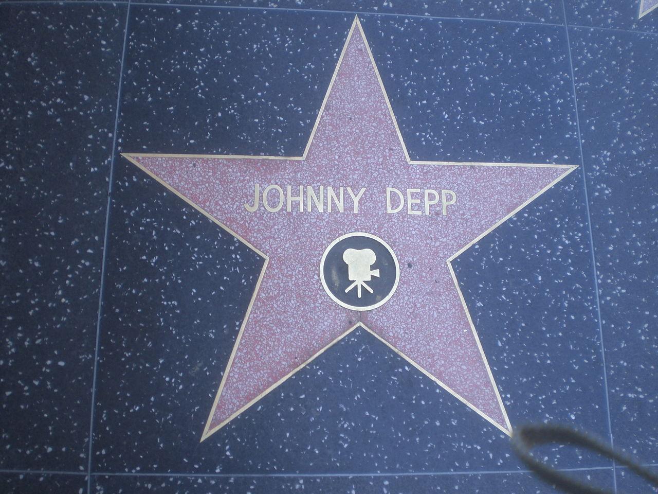 ملف:Johnny Depp Hollywood Star.jpg - ويكيبيديا