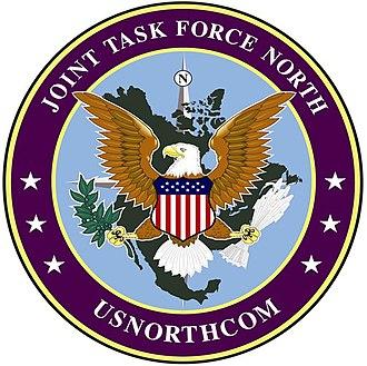 Joint Task Force North - JTF North emblem