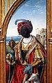 Joos van cleve, adorazione dei magi, 1525 ca. 03 magio di colore.jpg