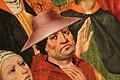 Jorge inglés, predica di un santo, 1475-1500 ca. (spagna) 03 uomo con cappello.jpg