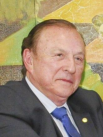 José Maria Eymael - Image: José Maria Eymael no senado