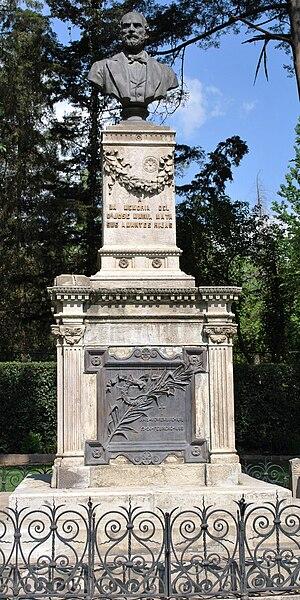 José María Mata - Tomb of José María Mata at the Rotunda of Illustrious Persons, Dolores Civil Cemetery