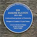 Joseph Paxton blue plaque.jpg