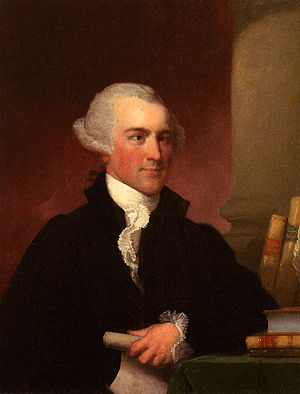 Josiah Quincy II - Painted posthumously by Gilbert Stuart, c. 1825