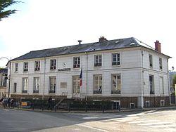 L'hôtel de ville de Jouy-en-Josas.