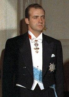 Juan Carlos di Borbone nel 1971