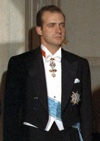 Juan Carlos I of Spain - Juan Carlos de Borbón in 1971