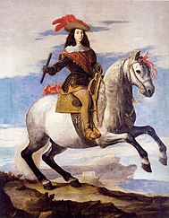 José de Ribera: Retrato de don Juan José de Austria con la ciudad de Nápoles al fondo, 1648.