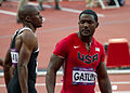 Justin Gatlin-Men's 100m Final-London 2012 Olympics (8374272018).jpg