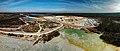 Königswartha Caminau Kaolin quarry Aerial Pan.jpg