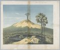 KITLV - 37C207 - Junghuhn, Franz Wilhelm (1809-1864) - Mieling, C.W. - Gunung Lemongan, volcano in East Java - Colour lithography - 1853-1854.tif