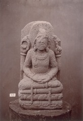 KITLV 87593 - Isidore van Kinsbergen - Hindu-Javanese sculpture coming from the Dijeng plateau - Before 1900.tif