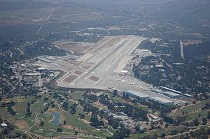 Monterey Regional Airport - Image: KMRY Departure