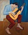 KYTARISTA, 1959, olej na plátně, 120 x 98 cm.jpg