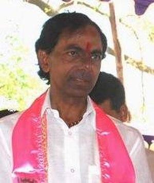 Andhra Pradesh Legislative Assembly election, 2014 - Image: K chandrashekar rao