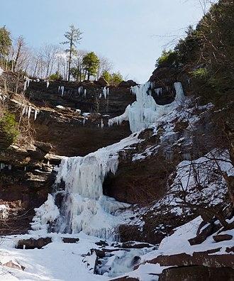 Kaaterskill Falls - The Falls in winter