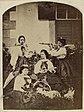 Kaiserin Elisabeth von Österreich-Ungarn mit Hofdamen.jpg