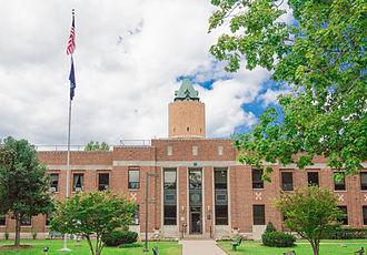 Kalamazoo Regional Psychiatric Hospital - The hospital in September 2014