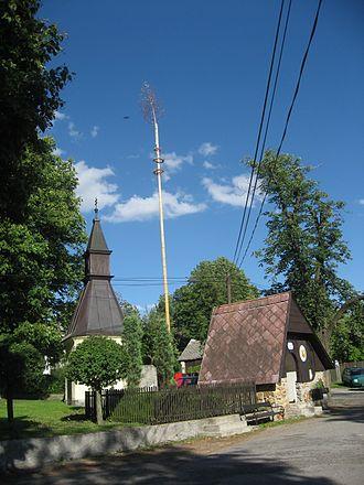 Kalhov - Image: Kalhov, centrum obce