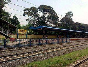 Kalyani, West Bengal - Image: Kalyani Railway station